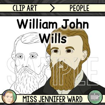 William John Wills Clipart