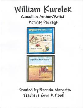 William Kurelek - Canadian Artists & Author Activity Package