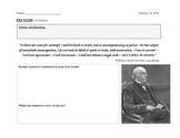 William Lloyd Garrison Quote Analysis - Civil War