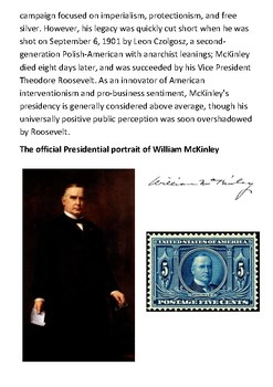 William McKinley Handout