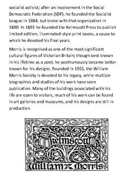 William Morris Handout