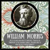 William Morris artist research & analysis worksheet