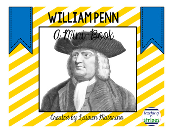 William Penn Mini-Book: FREEBIE!