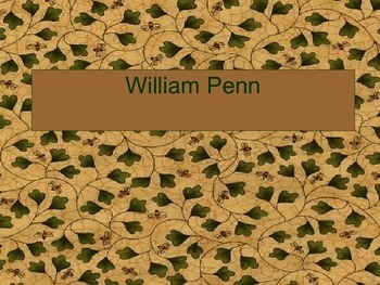 William Penn PowerPoint