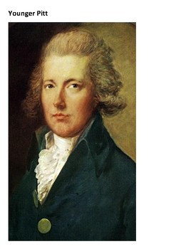 William Pitt the Younger Word Search