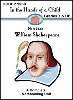 William Shakespeare: A Thematic Unit