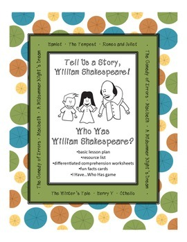 William Shakespeare - An Introduction for Kids