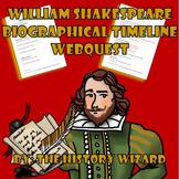 William Shakespeare Biographical Timeline Webquest