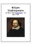 William Shakespeare Biography IN