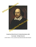 William Shakespeare Biography Photo Essay Assignment