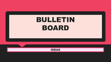 William Shakespeare Bulletin Board