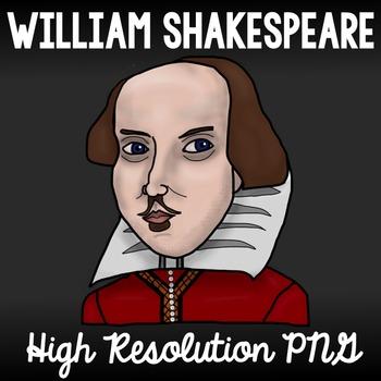 William Shakespeare Clip Art