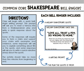Shakespeare Bell Ringers to Inspire Discussion