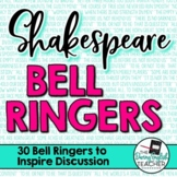 Shakespeare Bell Ringers to Inspire Discussion #SecondaryS