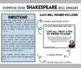 William Shakespeare Common Core Bell Ringers