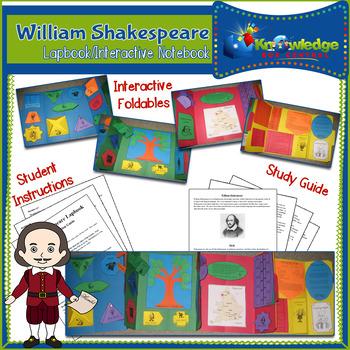 William Shakespeare Lapbook