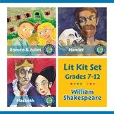 William Shakespeare Lit Kit Set - Gr. 7-12