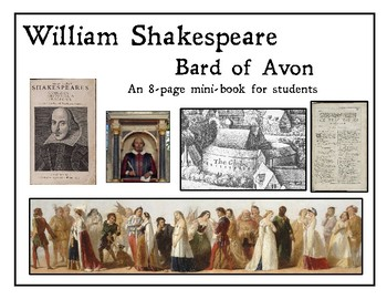 William Shakespeare Mini-book for students