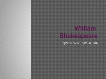 William Shakespeare Notes