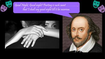 William Shakespeare PowerPoint Quotes Quiz
