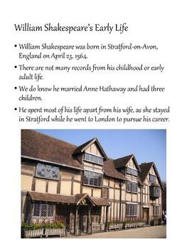 William Shakespeare Powerpoint