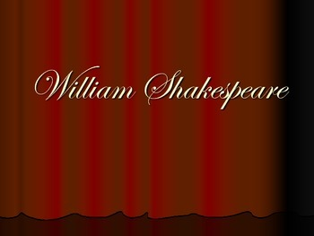 Introduction to Shakespeare - Presentation and Classroom A