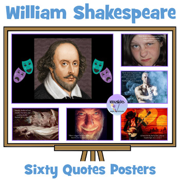 William Shakespeare Quote Posters From The Bard Of Avon - 45 Posters