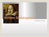 William Shakespeare- The Bard -  Power Point