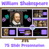 William Shakespeare, The Bard of Avon Presentation