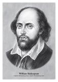 William Shakespeare - original illustration