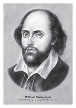 William Shakespeare - original illustration