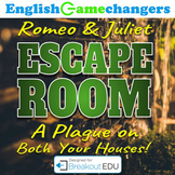 William Shakespeare's Romeo & Juliet Escape Room (Breakout EDU)