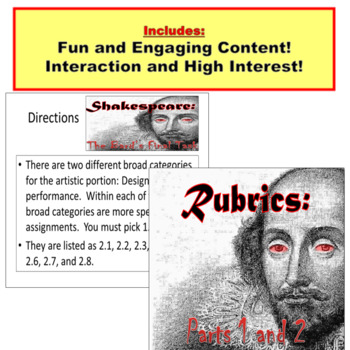 William Shakespeare's Quotations Interpretations Activity PowerPoint