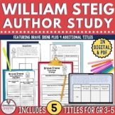 William Steig Author Study Bundle for 5 Books