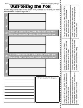 William Steig (Doctor De Soto - Sequencing / Retelling)