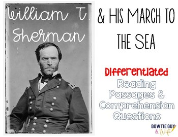 William T. Sherman Differentiated Reading Passages Sherman