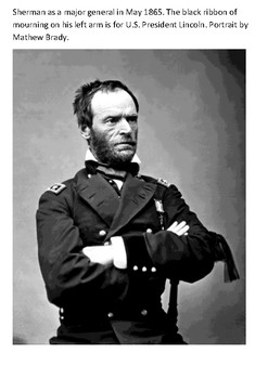 William Tecumseh Sherman Word Search