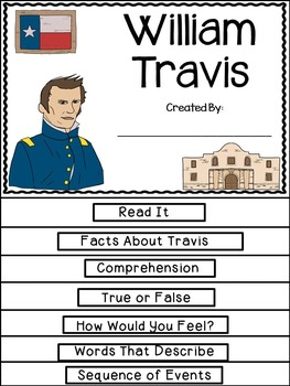William Travis Flip Book