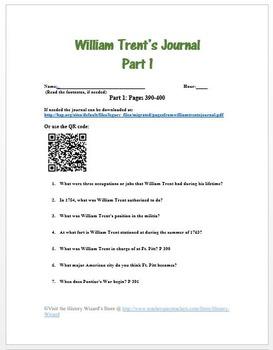 William Trent's Journal: Pontiac's Rebellion 1763 Primary Source