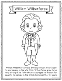 William Wilberforce Biography Coloring Page Craft or Poste