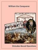 William the Conqueror Stimulus Based Questions