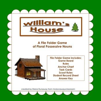 William's House: Plural Possessive Nouns