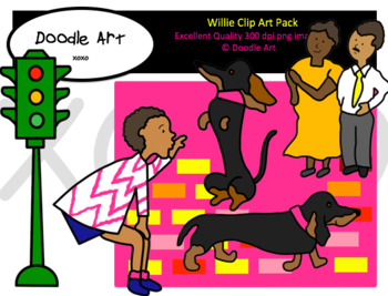 Willie Clipart Pack