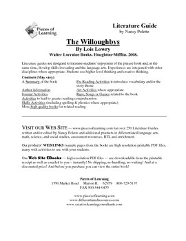 Willoughbys, The Literature Guide
