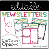 Editable Newsletters (The Willow Set)