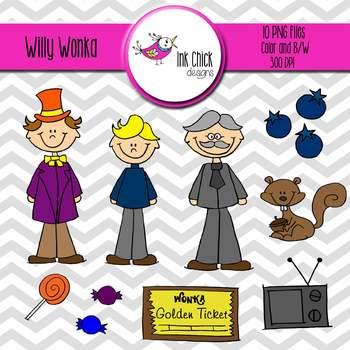 Willy Wonka Clip Art