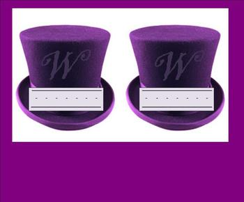 Willy Wonka Nametags and Locker tags