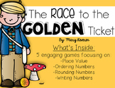 Willy Wonka Place Value Math Stations