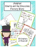 Willy Wonka and the Chocolate Factory Adapted Book and Worksheets