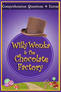 Willy Wonka and the Chocolate Factory Movie Guide + Extras - (Color + B/W)